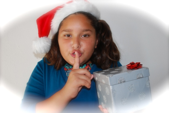 We promise to keep your last minute shopping choices a secret!