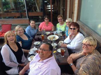 The First Monday of every month is a time for our BCBC members to relax and laugh!